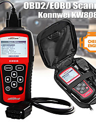 "cheap -KONNWEI KW808 Auto OBDII Code Reader 2.8"" Large Screen OBD2 Scanner with Full Diagnostic Scan Tool Functions Check Car Engine Light Fault Code Analyzer for All 1996 and Newer Cars with OBD II Protocol"