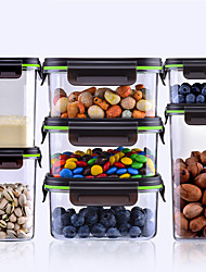 cheap -Meal Prep Premier Food Storage Container Pantry Tritan Organization & Food Storage Containers with Airtight Lids Multiple Specifications