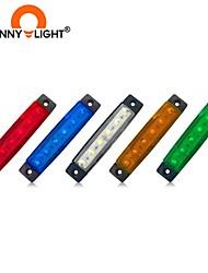 cheap -CNSUNNYLIGHT 1PCS 12V 24V 6 LED Tail Light Taillight Turn Signal Indicator Stop Lamp Rear Brake Light For Shop Truck Car Truck Trailer Caravan 5 Colors To Choice