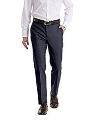 cheap -pants flat front navy neat new men's dress pants (34w x 30l)