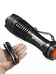 cheap -mini led flashlight, super bright 2000 lumens zoomable q5 aa/14500 3 modes flashlight torch lamp for outdoor & #40;a& #41;