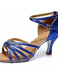 cheap -women's dance shoes latin ballroom,blue,7 b(m) us