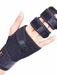 cheap -trigger finger splint for two or three finger immobilizer, finger brace for broken joints, sprains, contractures, arthritis, tendonitis and pain relief (right, s/m)