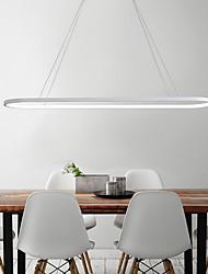 cheap -LED Oval Pendant Light 69cm Modern Simple Aluminum Hanging Island Lighting 36W for Dining Living Room Restaurant Conference Cafe Bar Chandelier
