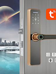 cheap -WAFU tuya WIFI Intelligent Fingerprint Indoor Lock for Home Hotel Office Electronic Fingerprint Password Door Lock(WF-007)