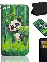 cheap -Case For Nokia 1.3 Nokia 2.3 Nokia 5.3 Wallet Card Holder with Stand Full Body Cases Panda PU Leather TPU for Nokia 3.2 Nokia 7.2 Nokia 2.2 Nokia 4.2 Nokia 1 Plus