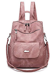 cheap -women's new fashion backpack purse anti-theft girls shopping daypack casual convertible multipurpose travel bag pink