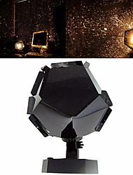 cheap -Romantic Planetarium Star Projector Galaxy Projector Night Light LED Projection Lamp For Home Planetarium Decoration Kids Bedroom Gift DIY Lights