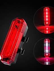 cheap -ultra bright bike light usb rechargeable bicycle tail light. red high intensity rear led accessories fits on any road bikes, helmets. easy to install for cycling safety flashlight (d)