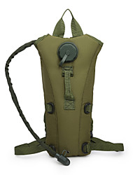 cheap -3 L Hydration Backpack Pack Rain Waterproof Outdoor Climbing Camping Oxford Cloth Army Green