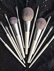 cheap -Makeup Brushes 12Pcs Makeup Brush Set Premium Synthetic Brush Cosmetics Foundation Concealers Powder Blush Blending Face Eye Shadows  Brush Sets