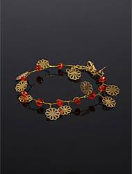 cheap -Women's Bracelet Geometrical Blessed Fashion Acrylic Bracelet Jewelry Red For Wedding