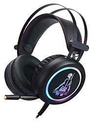 cheap -v7 Gaming Headset USB Wired with Microphone with Volume Control Sweatproof for Gaming