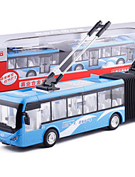 cheap -KDW 1:50 Alloy Bus Toy Truck Construction Vehicle Pull Back Vehicle Simulation Music & Light All Kids Baby & Toddler Car Toys