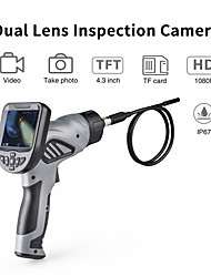 cheap -F508SHigh-definition video camera can take pictures of the car engine cylinder carbon repair air conditioning maintenance 8 mm hand-held endoscope 86cm snake pipeline-F508S