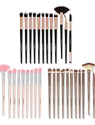 cheap -12 Pcs Makeup Brushes Portable Nylon Hair Makeup Brush Set Beauty Tools Soft Hair Eye Shadow Brush