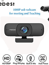 cheap -Webcam Full HD 1080P Computer Web Camera with Mic for PC Online Learning Live Broadcast WebCamera
