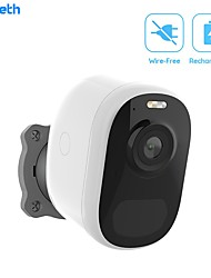 cheap -DIDSeth Wireless Home Security Wifi IP Security Cameras 1080P Battery Powered Rechargeable Pir Alarm Audio Low Power Surveillance Security Cameras