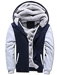 cheap -men's thick sherpa lined full zip up fleece hoodie sweatshirt winter coat (x-large, grey)