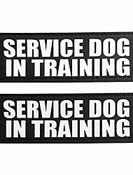 cheap -dog patches, reflective and removable dog tags for service vest dog harness