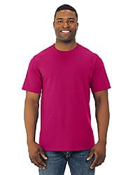 cheap -mens 100% heavy cotton hd t-shirt, 4xl, cyber pink