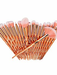 cheap -10 pcs/20 pcs/set makeup brush set eyeshadow fundation eyebrow blush brushes practical beauty cosmetic tool brushes kit