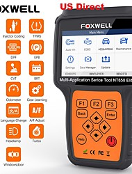 cheap -US Direct FOXWELL NT650 Elite Car OBD2 Scanner Automotive OBD II ABS Airbag Code Reader with SAS EPB DPF EPS CVT TPMS TPS Battery Registeration Oil Light Reset Special Service Diagnostic Scan Tool