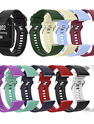 cheap -Silicone Watch Band for Garmin Forerunner 35 / 30 Silicone Wrist Strap Replacement Watch Band for Garmin Forerunner 35 / Garmin Forerunner 30