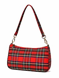 cheap -small shoulder bag woven pu leather cross body clutch baguette purse handbag for women (style 2-wine red)
