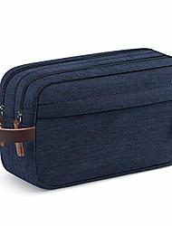 رخيصةأون -حقيبة منظم أدوات الزينة للسفر للرجال Dopp Kit حقيبة حمام زرقاء مقاومة للماء