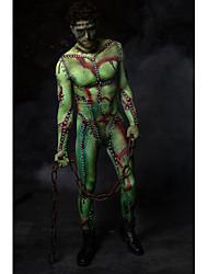 billige -Zentai Dragt Monster Voksne Cosplay Kostumer Monster Herre Vampyr Halloween Maskerade
