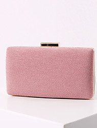 cheap -Women's Bags Polyester Alloy Evening Bag Glitter Solid Color Handbags Wedding Event / Party Camel Black Almond Blushing Pink