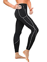 cheap -Pants Sports Nylon Pocket Help to lose weight Extensible Slimming High Strength For Men's Women's Fitness