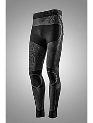 cheap -Women's Compression Pants Compression Base layer Tights Bottoms Lightweight Breathable Quick Dry Soft Sweat-wicking Dark Gray Winter Road Bike Mountain Bike MTB Basketball High Elasticity
