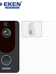 cheap -EKEN V7 HD 1080P Smart WiFi Video Doorbell Camera Visual Intercom Night vision IP Door Bell Wireless Security Camera