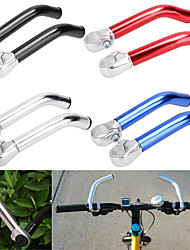 cheap -2019 new 1pair 22.2mm bike bicycle alloy aluminum handlebar handle bar ends mountain bike nonslip mtb mountain bike bicycle end handlebar
