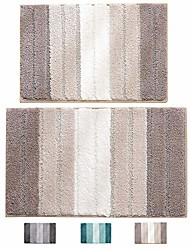 "cheap -bathroom rugs plush mat polyester microfiber non-slip,soft,absorbent and machine (aqua green large, 20""×32"")"