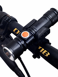 cheap -Dual LED Bike Light LED Flashlights / Torch Front Bike Light Headlight Bicycle Cycling Multiple Modes Super Bright Portable Adjustable 18650 1000 lm Rechargeable Chargeable USB White Camping / Hiking