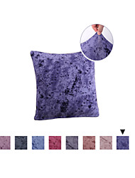 cheap -1 Pc Decorative Solid Color Throw Pillow Cover Pillowcase Cushion Cover for Bed Couch Sofa 18*18 Inches 45*45cm