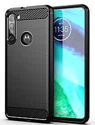cheap -Case For Motorola G8 Power Lite MOTO G Power Moto G Stylus Shockproof Ultra-thin Back Cover Solid Colored TPU Case For Moto G8 Plus Moto G7 Play G7 Power G7 Plus P40 Power MOTO One Vision MOTO P30 Not