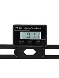 cheap -TL90 Digital Pitch Gauge LCD Backlight Display Blades Angle Measurement Tool