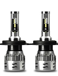 cheap -CNSUNNYLIGHT V5 ECE LED Car Headlight 2 PCS H4 9004 9007 H13 60W 12000Lm/Pair Turbo Led Bulbs CSP Headlamp 12V