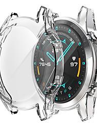 cheap -Cases For Huawei Huawei Watch GT 2 46MM / Huawei Watch GT 2 42MM TPU Screen Protector Smart Watch Case Compatibility