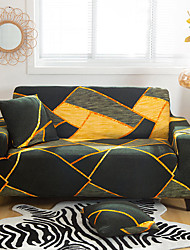 cheap -Geometric Lines Printed Sofa Cover Stretch Couch Cover Sofa Slipcovers for 1~4 Cushion Couch with One Free Pillow Case