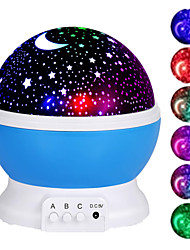 cheap -Galaxy Projector Starry Sky Rotating LED Night Light Planetarium Children Bedroom Star Night Lights Moon Light Kids Gift Lamp Romantic Gifts for Men Women Children