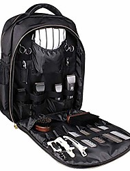 cheap -portable barber backpack-hair stylist travel case, makeup tool bag multifunction travel backpack cosmetic organizer box waterproof storage bag clipper case backpack organizer