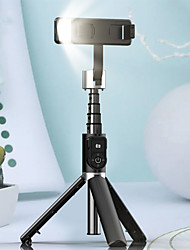 cheap -P70D Bluetooth Selfie Stick Tripod Fill light Video Record Support Universal Adjustable Direction Smartphone Stabilizer Vlog