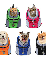 cheap -Dog Cat Pets Carrier Bag Travel Backpack Dog Backpack Travel Casual Casual / Daily Fashion Nylon Baby Pet puppy Small Dog Outdoor Hiking Black Fuchsia Blue