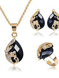 cheap -african statement jewelry set 24 k gold plated jewelry weddings dubai gold necklace earrings set …