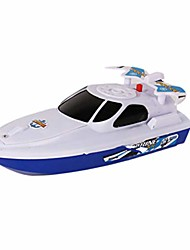 cheap -Floating Bath Toy Boat, Speedboat Bathing Toy Electric Motor Bathtub Shower Toy Kids Fun Water Toy For Toddlers Age 1 & Up (White)
